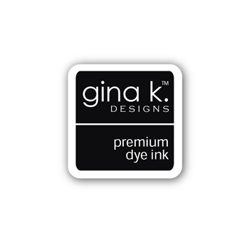 Gina K Designs BLACK ONYX Color Companions Mini Ink Pad CUBE9