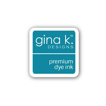 Gina K Designs BLUE LAGOON Color Companions Mini Ink Pad CUBE39