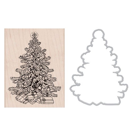 Hero Arts CLASSIC CHRISTMAS Rubber Stamp and Die Combo SB179 Preview Image