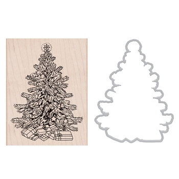 Hero Arts CLASSIC CHRISTMAS Rubber Stamp and Die Combo SB179