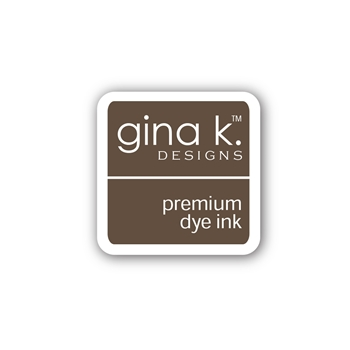 Gina K Designs DARK CHOCOLATE Color Companions Mini Ink Pad CUBE24