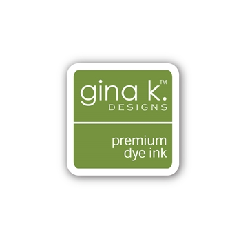 Gina K Designs GRASS GREEN Color Companions Mini Ink Pad CUBE13