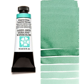 Daniel Smith KINGMAN GREEN TURQUOISE GENUINE 15ML Extra Fine Watercolor 284600155