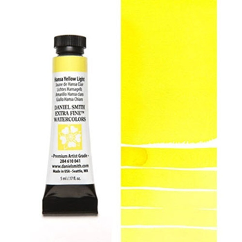 Daniel Smith HANSA YELLOW LIGHT 5ML Extra Fine Watercolor 284610041