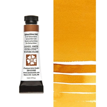 Daniel Smith QUINACRIDONE GOLD 5ML Extra Fine Watercolor 284610089
