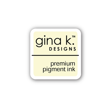 Gina K Designs IVORY Color Companions Mini Ink Pad CUBE32