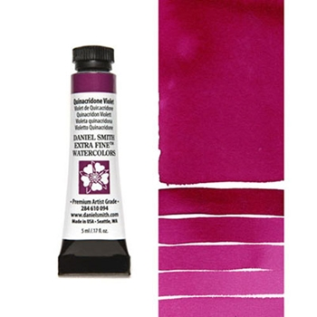 Daniel Smith QUINACRIDONE VIOLET 5ML Extra Fine Watercolor 284610094