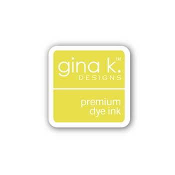 Gina K Designs LEMON DROP Color Companions Mini Ink Pad CUBE36