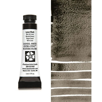 Daniel Smith LUNAR BLACK 5ML Extra Fine Watercolor 284610049