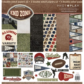 PhotoPlay END ZONE 12 x 12 Collection Pack EZ2932