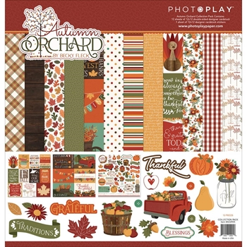 PhotoPlay AUTUMN ORCHARD 12 x 12 Collection Pack AO2925