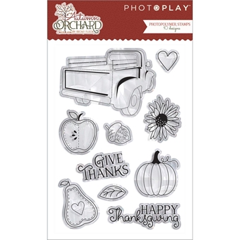 PhotoPlay AUTUMN ORCHARD Clear Stamps AO2926