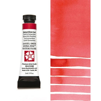 Daniel Smith QUINACRIDONE CORAL 5ML Extra Fine Watercolor 284610088
