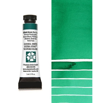 Daniel Smith PHTHALO GREEN BLUE SHADE 5ML Extra Fine Watercolor 284610078
