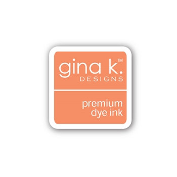 Gina K Designs PEACH BELLINI Color Companions Mini Ink Pad CUBE34