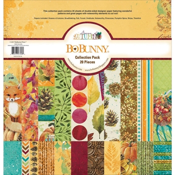 BoBunny 12 x 12 DREAMS OF AUTUMN Collection Pack 22416396