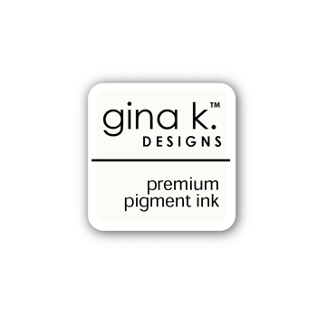 Gina K Designs WHITE Color Companions Mini Ink Pad CUBE31