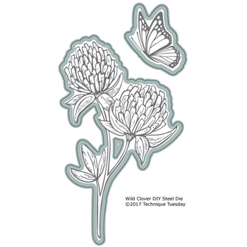 Technique Tuesday WILD CLOVER DIY Steel Dies 02569