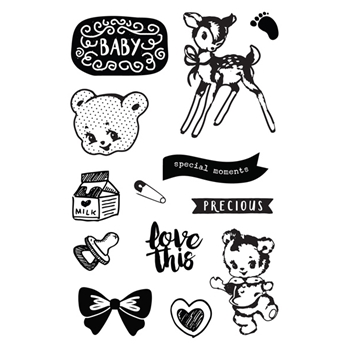 Prima Marketing HEAVEN SENT 2 Cling Stamps 595388