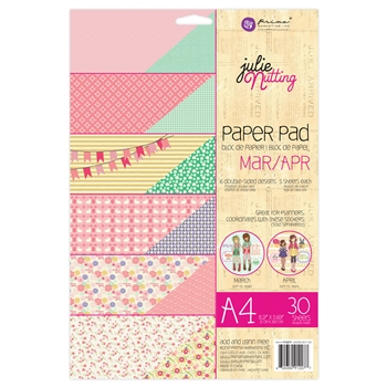 Prima Marketing A4 Paper Pad MARCH & APRIL Julie Nutting 912277