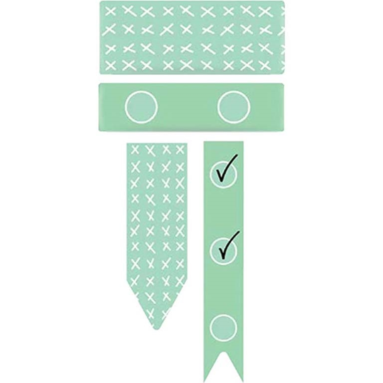 We R Memory Keepers MINT LISTS AND CHECKS Washi Tape 660080 zoom image