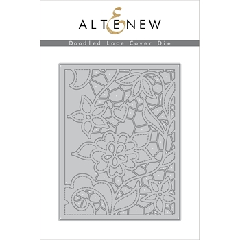 RESERVE Altenew DOODLE LACE COVER PLATE Die