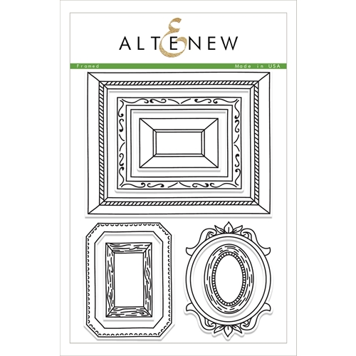 Altenew FRAMED Clear Stamp Set ALT1854 Preview Image