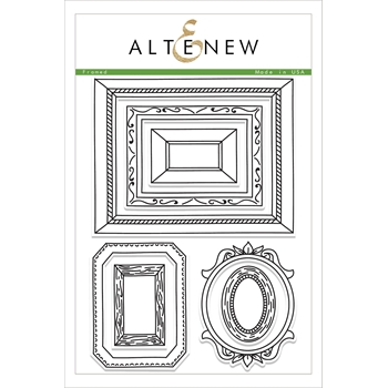 RESERVED Altenew FRAMED Clear Stamp Set