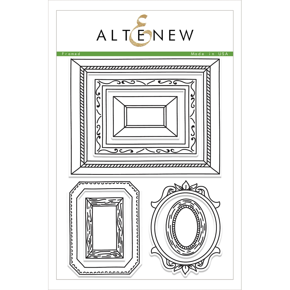 Altenew FRAMED Clear Stamp Set ALT1854 zoom image
