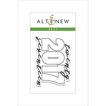 RESERVE Altenew 2017 Clear Stamp Set