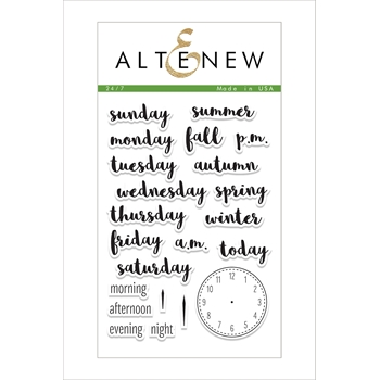 Altenew 24 / 7 Clear Stamp Set