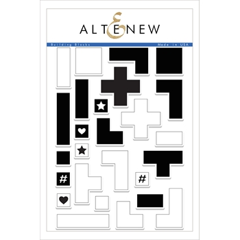 RESERVE Altenew BUILDING BLOCKS Clear Stamp Set