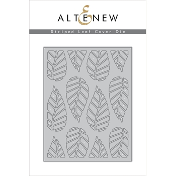 Altenew STRIPED LEAF COVER Die Set