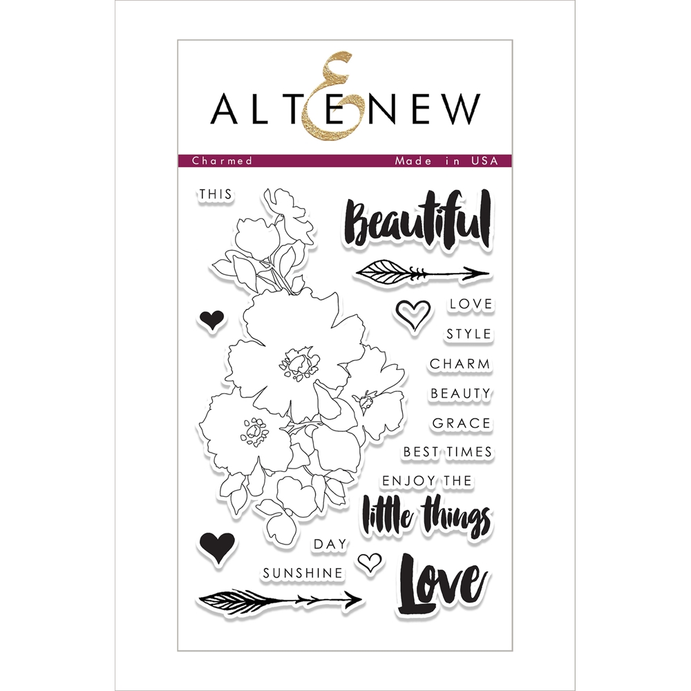 Altenew CHARMED Clear Stamp Set ALT1851 zoom image