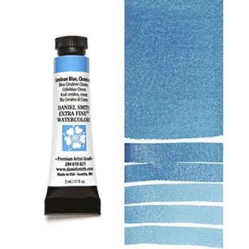 Daniel Smith CERULEAN BLUE CHROMIUM 5ML Extra Fine Watercolor 284610021