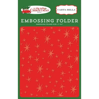 Carta Bella CHRISTMAS MAGIC Embossing Folder CBVMC72031