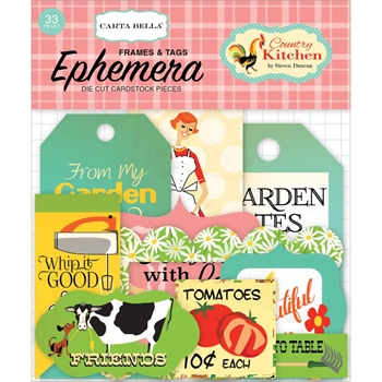 Carta Bella COUNTRY KITCHEN Ephemera CBCK76021