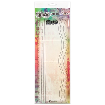 Dyan Reaveley Dylusions 4.35 x 12 Acrylic LARGE JOURNAL BLOCK Dylusions DYA54863