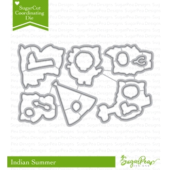 SugarPea Designs INDIAN SUMMER SugarCuts Dies SPD-00237