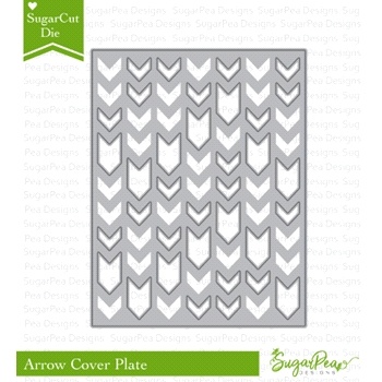 SugarPea Designs ARROW COVER PLATE SugarCuts Dies SPD-00238