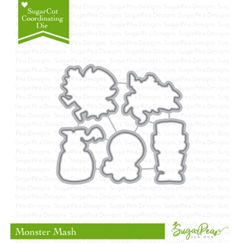 SugarPea Designs MONSTER MASH SugarCuts Dies SPD-00242