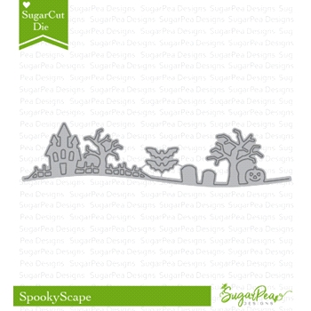 SugarPea Designs SPOOKYSCAPE SugarCuts Dies SPD-00243