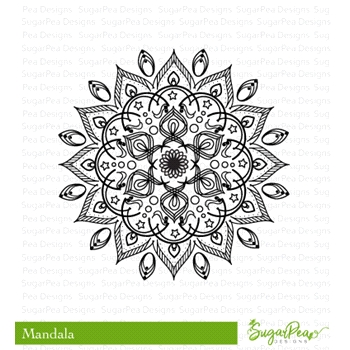 SugarPea Designs MANDALA Clear Stamp Set SPD-00244