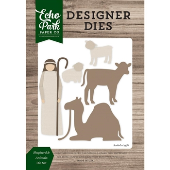 Echo Park SHEPHERD & ANIMALS Die Set EPPDIE861