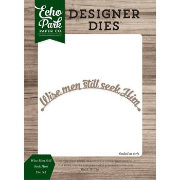 Echo Park WISE MEN STILL SEEK HIM Die Set EPPDIE862