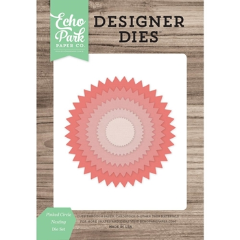 Echo Park PINKED CIRCLE NESTING Die Set EPPDIE869