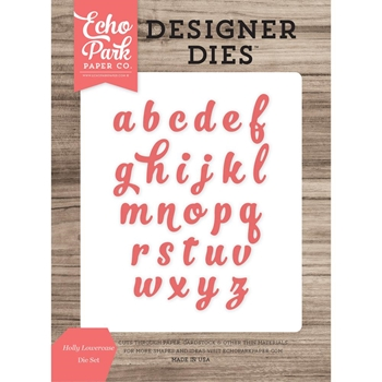 Echo Park HOLLY LOWERCASE Die Set EPPDIE888