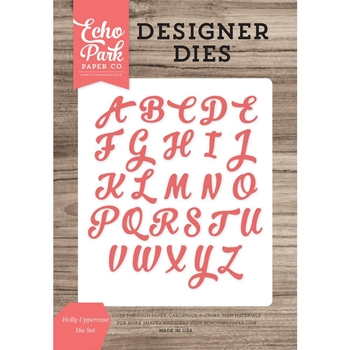 Echo Park HOLLY UPPERCASE Die Set EPPDIE887