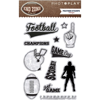 PhotoPlay END ZONE Clear Stamps EZ2933