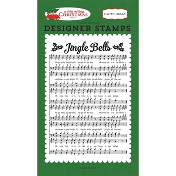 Carta Bella JINGLE BELLS Clear Stamp Set CBVMC72046